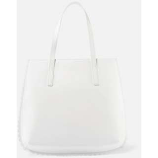 Charles & Keith Scallop Tote Bag (White)
