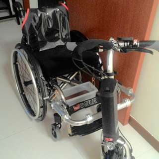 Firefly & Wheelchair