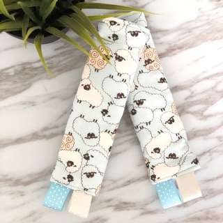 Seth The Sheep Stroller/ Car Seat Straps Cover