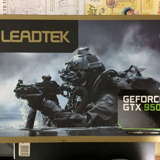 BRAND NEW LEADTEK NVIDIA GTX 950 2GB  (NEW LOACL WARRANTY)