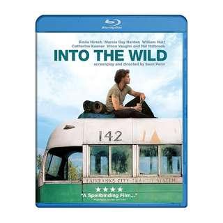 Into the Wild Blu Ray
