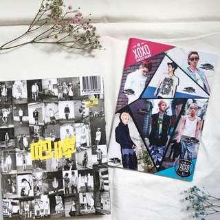 exo xoxo album & notebook