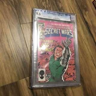Marvel Secret Wars #12 CGC 9.6