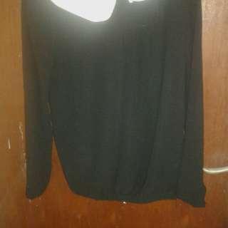 baju sifon hitam