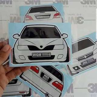 Car Custom Sticker 2018