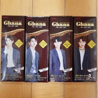 [Ready Stock] Ghana X Wanna One (Chocolate Bar)