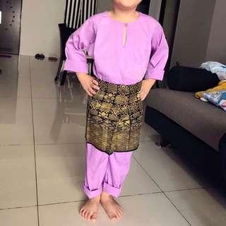 3-Pcs Baju Melayu for Boys