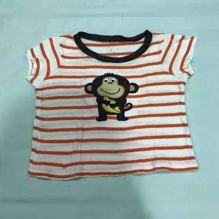 Baju monkey garis