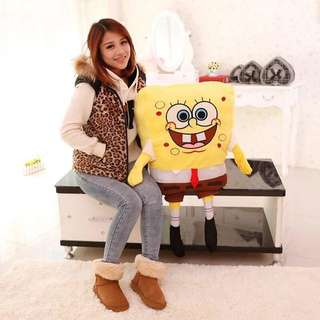 2Ft Spongebob Stuffed Toy Valentines Gift Idea