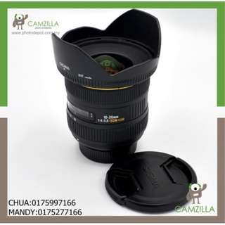 USED SIGMA LENS 10-20mm DC HSM (FOR NIKON)