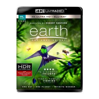 🆕 Earth: One Amazing Day 4K UHD + Blu Ray