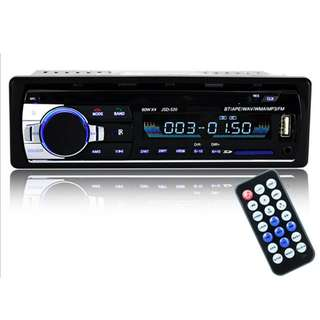 MagiDeal JSD-520 24V/12V Car Stereo Audio Head Units In-Dash Radio Player 1 DIN Bluetooth/MP3/USB/SD/AUX/FM - 24V