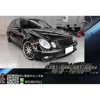2004 Merdeces-Benz E320 AMG 3.2L 黑