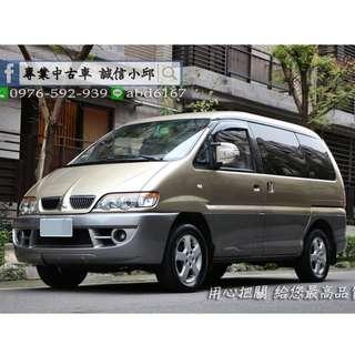 ▶▶MITSUBISHI SPACEGEAR 2.4頂級休旅車◀◀