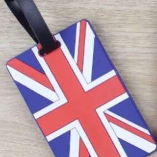 🚚 英國🇬🇧風行李牌