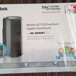 2 sets of Dlink AC 1750 router for sale