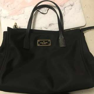 Kate Spade Black Avenue Bag