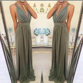 Maxi Dress From SABO SKIRT