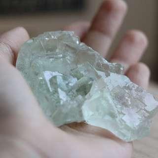 Pale Green Fluorite