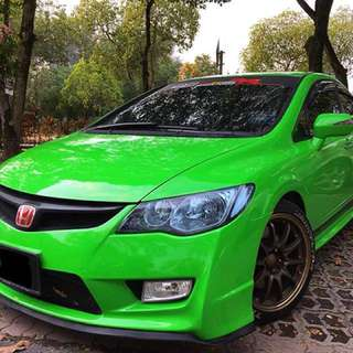HONDA CIVIC FD 2.0(A)I-VTEC GREEN SPORTY EDITION