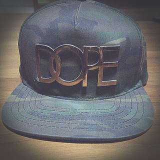 CAMO Dope cap snapback