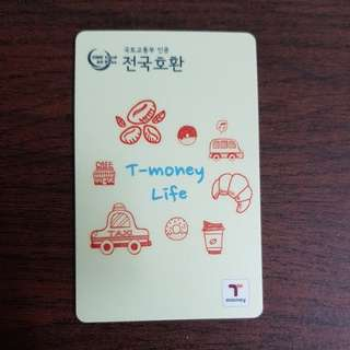 Korea T-money Card