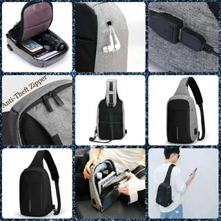 Anti Theft Safety Sling bag