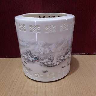 Porcelain Pen Holder (Large)-1