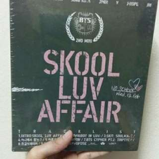 BTS - Skool Luv Affair Album