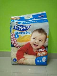 Drypers wee wee dry L