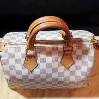 *Mark Down*Auth LV Damier Azur Speedy 25