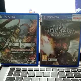 PsVita & DS games