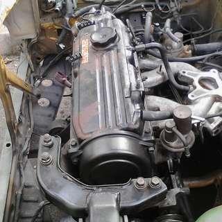 Engine / gearbox Iswara