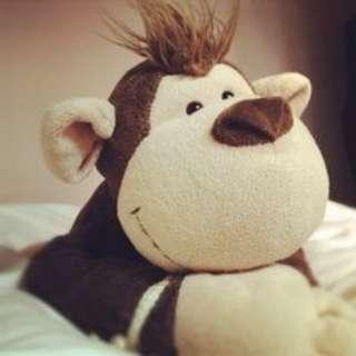 Nici Monkey Plushie