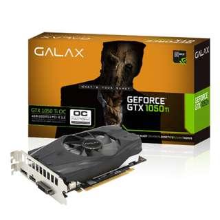 GALAX GeForce GTX 1050 Ti OC 4GB GTX1050TI
