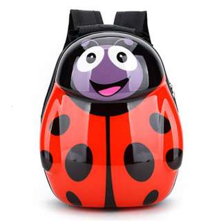 Ladybird Hard Shell Children's Kindergarten Backpack