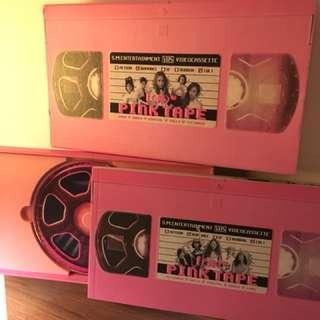 F(x) PINK TAPE Album