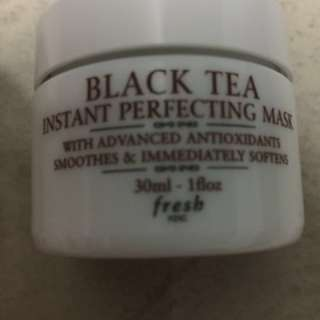 Fresh Rose Face Mask/ Fresh Black Tea