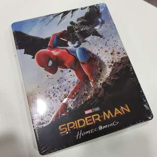 Spiderman Homecoming (3D+2D) steelbook with lenticular