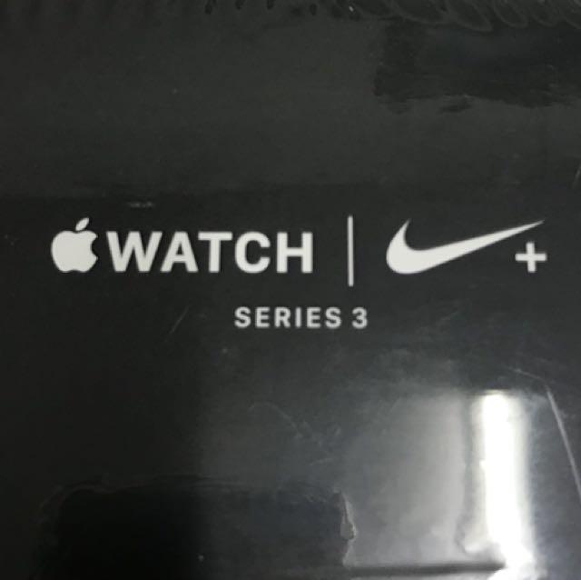 保固2019.02.04 AppleWatch 3 42mm Nike版