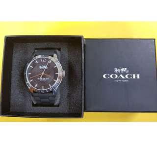 COACH Signature CA.79.7.95.1193 Black Women's Wrist Watch