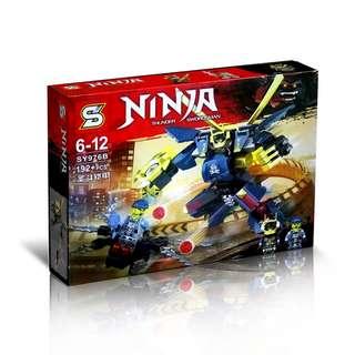 SY976B Ninjago Thunder Swordsman Saint Bucket Armor