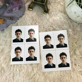 [READYSTOCK]EXO Member Passport Picture