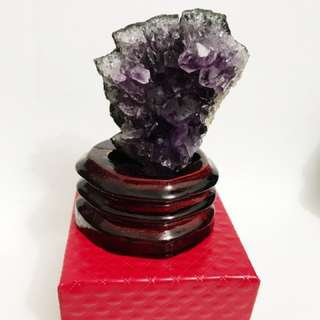 Promo* Amethyst Crystal Ornament 紫水晶摆设