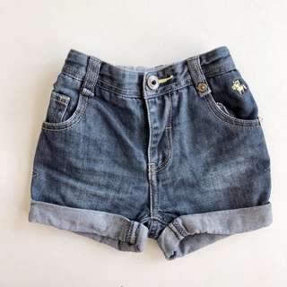 As good as new baby poney boy's jeans shorts