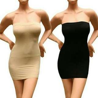 Slimming tube dress body shaper