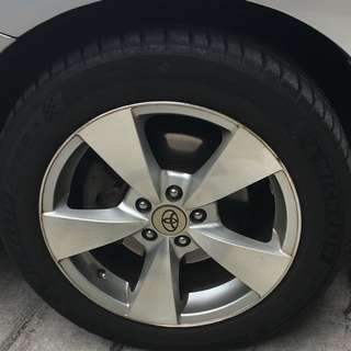 Michelin PS4 205/55 R16 and rims