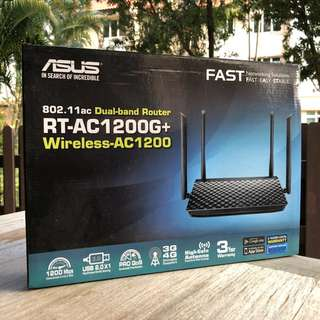 (CHEAPEST) ASUS RT-AC1200G+ Wireless AC Router