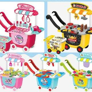 STORAGE TROLLEY TOY  Rm43 sem