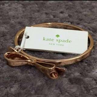 Kate Spade ♠️ | bangle | rose gold | 情人節禮物